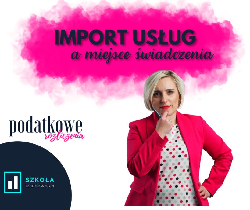 import usług
