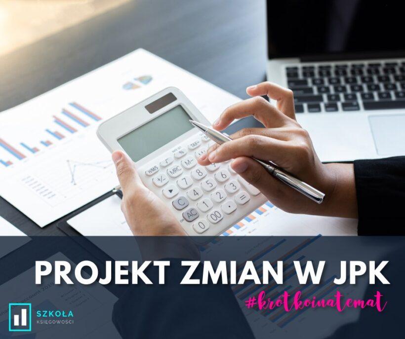projekt zmian w JPK